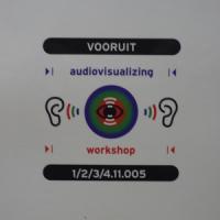 Audiovisualizing thumbnail image